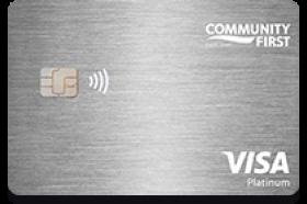 Community First Credit Union of Florida Visa Platinum Credit Card