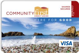 Community First Credit union Visa® Share Secured Credit Card