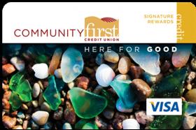 Community First Credit Union Visa® Signature Rewards Credit Card