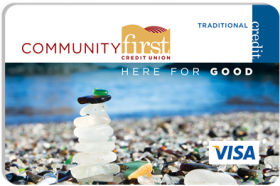 Community First Credit Union Visa® Traditional Credit Card