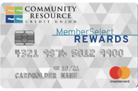 Community Resource Credit Union MemberSelect Rewards MasterCard