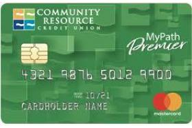 Community Resource Credit Union MyPath Premier MasterCard