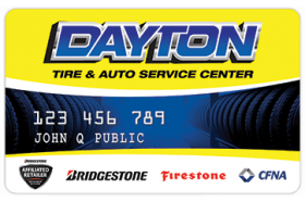Dayton Tire and Auto Service Center Credit Card