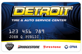 Detroit Tire and Auto Service Center Credit Card