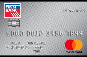 First Bank Maximum Rewards Mastercard