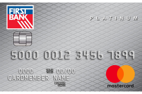 First Bank Secured Mastercard