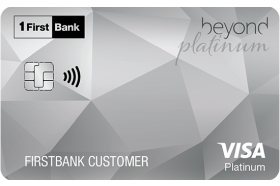 FirstBank Puerto Rico Beyond Platinum Visa Credit Card