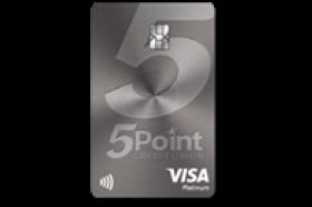 FivePoint Credit Union Platinum Visa Credit Card