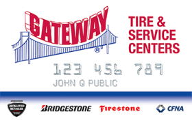Gateway Tire and Service Centers Credit Card