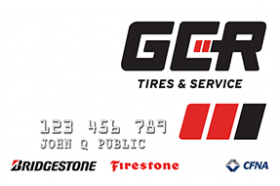 GCR Tires and Service Credit Card