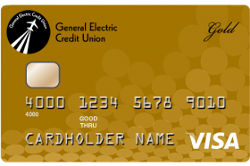 General Electric Credit Union Gold Credit Card