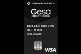 Gesa Credit Union Diamond Cash Back Card