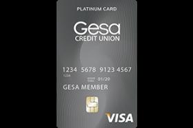 Gesa Credit Union Platinum Card