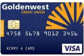 Goldenwest Credit Union Visa Rewards Credit Card