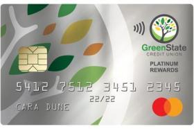 Greenstate Credit Union Platinum Rewards Mastercard