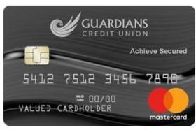 Guardians Credit Union Achieve Secured Credit Card