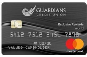 Guardians Credit Union Exclusive Rewards
