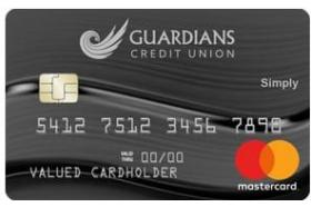 Guardians Credit Union Simply Credit Card