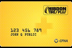 Hibdon Tires Plus Credit Card