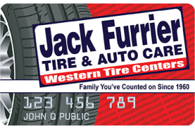 Jack Furrier Tire and Auto Care Credit Card