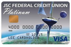 JSC Federal Credit Union Visa Platinum Credit Card