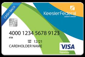 Keesler Federal Credit Union Visa Signature