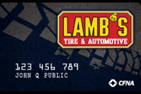Lamb's Tire Credit Card