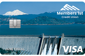 Members 1st Credit Union Share Secured Visa