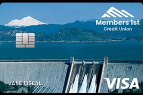 Members 1st Credit Union Visa Classic Credit Card