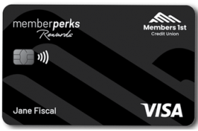 Members 1st Credit Union Visa Memberperks Rewards