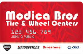 Modica Bros Tire Centers Credit Card