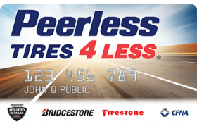Peerless Tire Credit Card