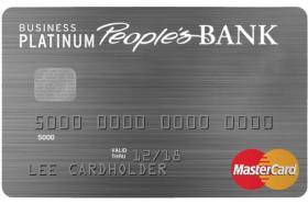 People's Bank of Commerce Business Platinum Classic MasterCard
