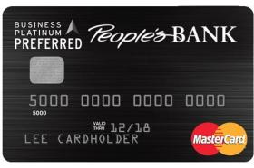 People's Bank of Commerce Business Platinum Preferred MasterCard