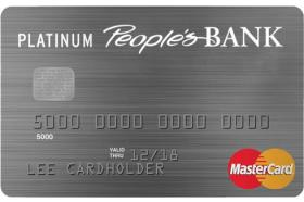 People's Bank of Commerce Platinum Classic MasterCard