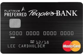 People's Bank of Commerce Platinum Preferred MasterCard