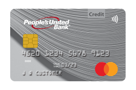 People's United Bank World Mastercard® Real Rewards Card