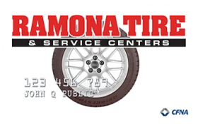 Ramona Tire and Service Centers Credit Card