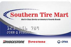 Southern Tire Mart Credit Card