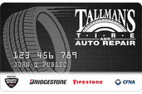 Tallman's Tire and Auto Repair Credit Card