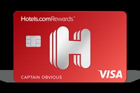The Hotels.com® Rewards Visa® Card