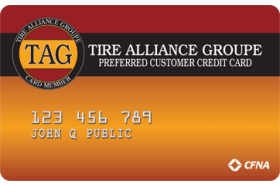 Tire Alliance Groupe Credit Card