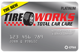 Tire Works Total Car Care Credit Card