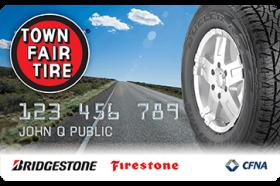 Town Fair Tire Credit Card