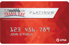 Toyota of Tampa Bay Credit Card